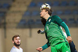 Zan Zuzek of Slovenia during football match between Slovenia and France in Qualifying round for European Under-21 Championship 2019, on November 13, 2017 in Sportni park, Domzale, Slovenia.  Photo by Ziga Zupan / Sportida