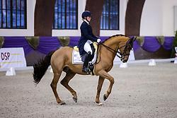 Kronberg, Gestüt Schafhof, KRONBERG _ Int. Festhallen Reitturnier Schafhof Edition 2020,<br /> <br /> KANERVA Emma (FIN), Greek Air <br /> Louisdor-Preis - Finale 2020 <br /> Nachwuchspferde Grand Prix für 8 - 10j. Pferde / Finale<br /> Grand Prix<br /> Dressurprüfung Kl.S***<br /> <br /> 20. December 2020<br /> © www.sportfotos-lafrentz.de/Stefan Lafrentz