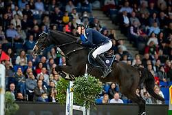 Stevens Mario, GER, Landano Old<br /> Stuttgart - German Masters 2018<br /> © Hippo Foto - Stefan Lafrentz