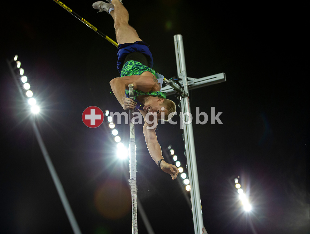 Piotr LISEK of Poland competes in the Men's Pole Vault during the Iaaf Diamond League meeting (Weltklasse Zuerich) at the Letzigrund Stadium in Zurich, Switzerland, Thursday, Aug. 29, 2019. (Photo by Patrick B. Kraemer / MAGICPBK)