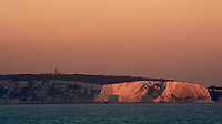 Chalk Cliffs on the Isle of Wrght at Dawn. Image taken with a Nikon 1 V1 camera and 30-110 mm VR lens (ISO 100, 110 mm, f/8, 1/60 sec).
