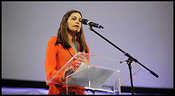 (L to R) Siobhan Benita, during the Black Britain Mayoral Election Debate, London, UK, April 12, 2012. Photo By Andrew Parsons / i-Images.