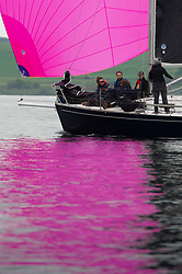 Day 2 Scottish Series, SAILING, Scotland.<br /> <br /> Satisfaction, J92, 8272T, StMLSC <br /> <br /> The Scottish Series, hosted by the Clyde Cruising Club is an annual series of races for sailing yachts held each spring. Normally held in Loch Fyne the event moved to three Clyde locations due to current restrictions. <br /> <br /> Light winds did not deter the racing taking place at East Patch, Inverkip and off Largs over the bank holiday weekend 28-30 May. <br /> <br /> Image Credit : Marc Turner / CCC