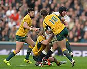 20141129 Rugby,  England vs Australia, Twickenham. UK