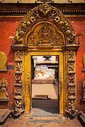 Golden Gate, Bhaktapur Durbar Square, The gate opens to the inner courtyards of the Royal Palace
