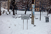 Memorial plate for children killed during the siege of Sarajevo in-between 1992 and 1995. 521 names are written on the memorial.