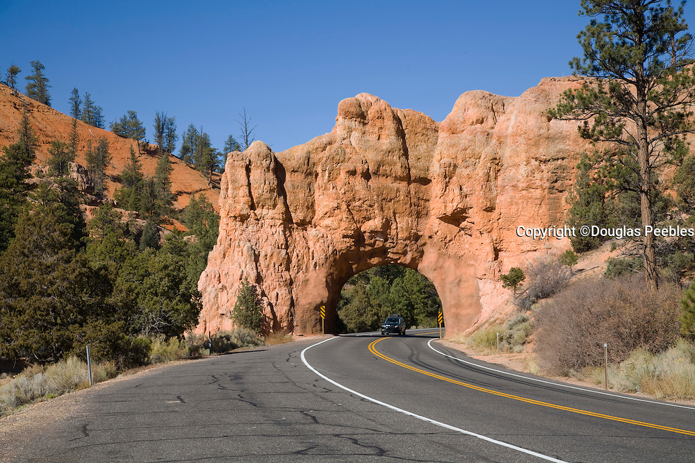 Car Tunnell, Dixie Nation Forest, Red Canyon, Utah