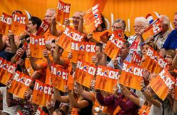 25-09-2016 NED: EK Kwalificatie Nederland - Turkije, Koog aan de Zaan<br /> Oranje publiek support