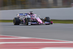 February 19, 2019 - Barcelona, Spain - Canadian driver Lance Stroll of English team Racing Point F1 Team Force India driving his single-seater during Barcelona winter test in Catalunya Circuit in Montmel?, Spain, on February 19, 2019. (Credit Image: © Andrea Diodato/NurPhoto via ZUMA Press)