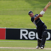 Suzie Bates batting towards 168 runs during the match between New Zealand and Pakistan in the Super 6 stage of the ICC Women's World Cup Cricket tournament at Drummoyne Oval, Sydney, Australia on March 19, 2009. New Zealand won the match by 223 runs. Photo Tim Clayton