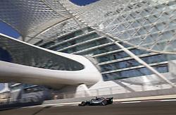 November 23, 2018 - Abu Dhabi, United Arab Emirates - during the 2018 Formula One World Championship, Abu Dhabi Grand Prix from November 22 to 25  in Yas Marina - Photo Francois Flamand / DPPI Motorsports: FIA Formula One World Championship 2018, Grand Prix of Abu Dhabi, World Championship;2018;Grand Prix;Abu Dhabi, #44 Lewis Hamilton (GBR, Mercedes AMG Petronas F1 Team) (Credit Image: © Hoch Zwei via ZUMA Wire)