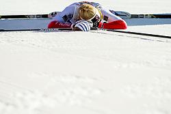 January 31, 2018 - Goms, SWITZERLAND - 180131 Amalie HÅ'konsen Ous of Norway after the women's 10km classic technique interval start during the FIS U23 Cross-Country World Ski Championships on January 31, 2018 in Obergoms..Photo: Vegard Wivestad GrÂ¿tt / BILDBYRN / kod VG / 170090 (Credit Image: © Vegard Wivestad Gr¯Tt/Bildbyran via ZUMA Press)