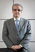 Belo Horizonte_MG, Brasil...Retrato do empresario e atual presidente da FIEMG, futuro presidente da CNI, Robson Andrade, na sede da FIEMG em Belo Horizonte...Portrait of businessman and president of FIEMG, and future president of CNI, Robson Andrade, in Belo Horizonte...Foto: BRUNO MAGALHAES / NITRO
