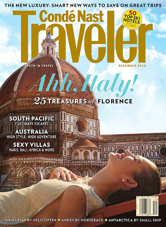 Conde Nast Traveler US Cover Dec 2010