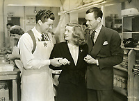 "1944 Bette Davis in the movie ""Hollywood Canteen"""