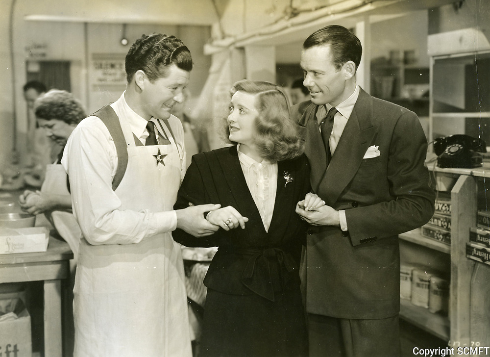 """1944 Bette Davis in the movie """"Hollywood Canteen"""""""