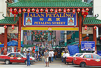 Malaisie, Etat de Selangor, Kuala Lumpur, Chinatown, marché Petaling // Malaysia, Selangor state, Kuala Lumpur, Chinatown, Petaling market