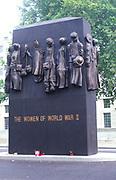 ATBK72 Memorial to Women of World War Two London England