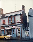 Old Dublin Amature Photos March 1983 WITH, Preretons Pawn Shop, Capel St, The Alcove, Ballsbridge, Donnollons Shop York Rd Dunlaire, Lodge BALLENTEER, Farm Gates, The Corner shop. Rathfarnham, School Inchicore, Quinns Butchers, Howth, agfa, chemist, Old amateur photos of Dublin streets churches, cars, lanes, roads, shops schools, hospitals