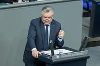 13 FEB 2020, BERLIN/GERMANY:<br /> Michael Georg Link, MdB, FDP, Sitzung des Deutsche Bundestages, Plenum, Reichstagsgebaeude<br /> IMAGE: 20200213-01-026