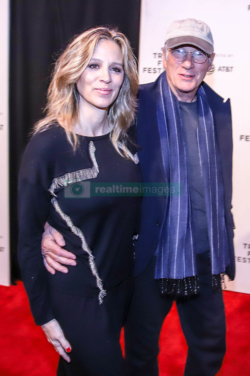 May 3, 2019 - New York, New York, United States - Alejandra Silva and Richard Gere attends a screening of 'It Takes a Lunatic' during the 2019 Tribeca Film Festival at BMCC Tribeca PAC on May 03, 2019 in New York City. (Credit Image: © William Volcov/ZUMA Wire)