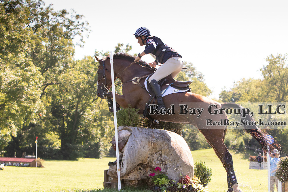 Boyd Martin (USA)  and On Cue at the USEA American Eventing Championships in Lexington, Kentucky.
