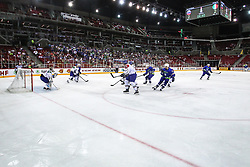 Arena during Ice Hockey match between National Teams of Italy and Slovenia in Round #5 of 2018 IIHF Ice Hockey World Championship Division I Group A, on April 28, 2018 in Arena Laszla Pappa, Budapest, Hungary. Photo by David Balogh / Sportida