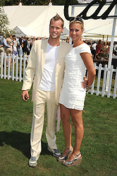 SAM BRANSON and HOLLY BRANSON at the Cartier International Polo at Guards Polo Club, Windsor Great Park on 27th July 2008.<br /> <br /> NON EXCLUSIVE - WORLD RIGHTS