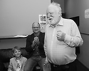 18/07/2015 repro free. World Premiere of The Match Box  a The Galway International Arts Festival production written by Frank McGuinness (pictured)and Director by Joan Sheehy and starring Cathy Belton at the Town Hall Theatre, Galway .  <br /> Photo:Andrew Downes:XPOSURE