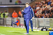 Tottenham Hotspur Manager Mauricio Pochettino during the EFL Cup match between Colchester United and Tottenham Hotspur at the JobServe Community Stadium, Colchester, England on 24 September 2019.