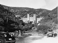 1923 Pilgrimage Play Theater on the east side of the Cahuenga Pass.