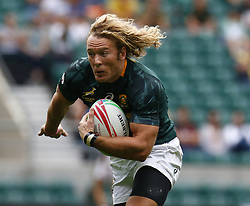 May 26, 2019 - Twickenham, England, United Kingdom - Werner Kok of South Africa.during The HSBC World Rugby Sevens Series 2019 London 7s Cup Quarter Final Match 29 between South Africa and Australia at Twickenham on 26 May 2019. (Credit Image: © Action Foto Sport/NurPhoto via ZUMA Press)