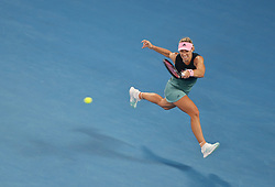 MELBOURNE, Jan. 16, 2019  Angelique Kerber of Germany returns the ball during the women's singles second round match against Beatriz Haddad Maia of Brazil at the Australian Open in Melbourne, Australia, Jan. 16, 2018. (Credit Image: © Bai Xuefei/Xinhua via ZUMA Wire)