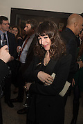 ANNIE MORRIS, , , Peter Doig  was the fourth artist to receive the  annual Art Icon award. Whitechapel Gallery. London.  26 january 2017