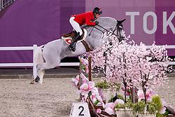 Fuchs Martin, SUI, Clooney 51, 382<br /> Olympic Games Tokyo 2021<br /> © Hippo Foto - Dirk Caremans<br /> 07/08/2021