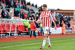 Philipp Wollscheid of Stoke City looks dejected at full time - Mandatory by-line: Matt McNulty/JMP - 02/04/2016 - FOOTBALL - Britannia Stadium - Stoke-on-Trent, England - Stoke City v Swansea City - Barclays Premier League