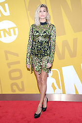 Hailey Baldwin attends the 2017 NBA Awards Live on TNT at Pier 36 in New York, NY, on June 26, 2017. (Photo by Anthony Behar) *** Please Use Credit from Credit Field ***