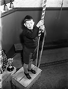 28/11/1956<br /> 11/28/1956<br /> 28 November 1956<br /> <br /> Edwin Dukes from Drogheda, 10 Year Old Bell-Ringer - Special for Sunday Express