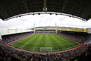 a general  view as both teams prepare to kick off. Barclays Premier League match, Crystal Palace v Norwich city at Selhurst Park in London on Saturday 9th April 2016. pic by John Patrick Fletcher, Andrew Orchard sports photography.