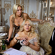 Russians at the 2007 Moscow Millionaire Fair.