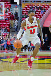 NORMAL, IL - November 03: Milik Yarbrough during a college basketball game between the ISU Redbirds  and the Augustana Vikings on November 03 2018 at Redbird Arena in Normal, IL. (Photo by Alan Look)