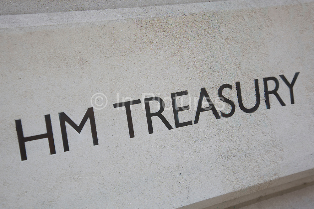 HM Treasury in London, England, United Kingdom. HM Treasury is the government's economic and finance ministry, maintaining control over public spending, setting the direction of the UK's economic policy and working to achieve strong and sustainable economic growth.