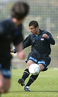 Fotball - Treningsleir La Manga.11. mars 2002. Vålerenga - Malmø FF. Freddy Dos Santos, VIF.<br /> <br /> Foto: Andreas Fadum, Digitalsport