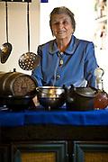 Belo Horizonte _ MG, Brasil...Retrato de  Dona Lucinha, dona do restaurante Armazem Dona Lucinha...The Lucinha portrait, she is owns of the restaurant Armazem Dona Lucinha. ..Foto: JOAO MARCOS ROSA / NITRO
