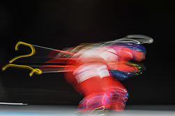 February 11, 2018 - Pyeongchang, Gangwon, South Korea - Tomas Hasilla ofSlovakia at Mens 10 kilometre sprint Biathlon at olympics at Alpensia biathlon stadium, Pyeongchang, South Korea on February 11, 2018. (Credit Image: © Ulrik Pedersen/NurPhoto via ZUMA Press)
