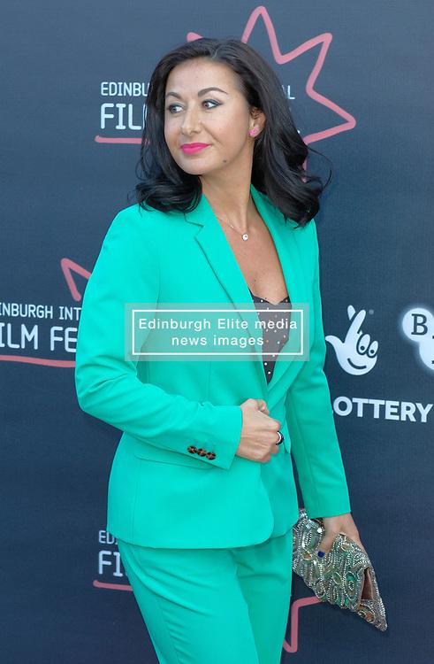Edinburgh International Film Festival, Thursday, 21st June 2018<br /> <br /> Premiere of Eaten by Lions<br /> <br /> Pictured: Hayley Tamaddon <br /> <br /> (c) Aimee Todd | Edinburgh Elite media
