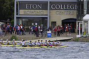 Eton, GREAT BRITAIN, USA W8+,[ left to Right, Caryn DAVIES, Caroline LIND, Susan FRANCIA, Anna MIKELSON, Lindsey STOOP, Anna GOODALE, Megan COOKE, Brett SICKLER,] in the closing stage of the final at the  2006 World Rowing Championships, 27/08/2006.  Photo  Peter Spurrier, © Intersport Images,  Tel +44 [0] 7973 819 551,  email images@intersport-images.com Rowing Course, Dorney Lake