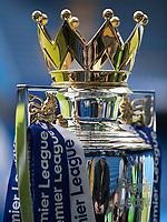 Football - 2016 / 2017 Premier League - Chelsea vs. Sunderland <br /> <br /> The Premier League trophy awaits the champions Chelsea ahead of the kick off  at Stamford Bridge.<br /> <br /> COLORSPORT/DANIEL BEARHAM