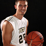 Forward A.J. Tyler  of the University of Central Florida Knights mens basketball team poses on media day at the UCF Arena on October 14, 2010 in Orlando, Florida. (AP Photo/Alex Menendez)