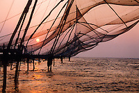 Kinesiske fiskenett, Chinese fishing net